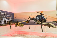Mostra internazionale della difesa in Abu Dhabi Fotografia Stock