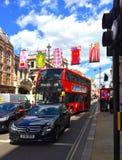 Mostra reale Piccadilly Londra di estate dell'accademia Fotografia Stock