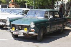 Mostra Skopje 2016 do Oldtimer Foto de Stock