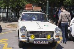 Mostra Skopje 2016 do Oldtimer Imagens de Stock