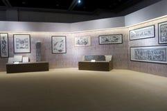 Mostra speciale circa la scultura di pietra di dinastia di han Fotografia Stock