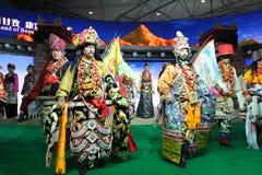 Mostra tibetana da roupa Imagem de Stock