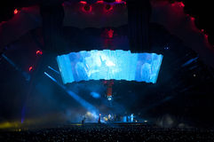 Mostra U2 360 em Brasil fotos de stock royalty free