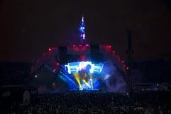 Mostra U2 360 em Brasil Imagens de Stock Royalty Free