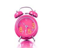 Mostra vermelha do despertador em 10 30 horas Imagem de Stock