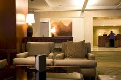 Mostrador del pasillo del hotel de Westin Seattle Fotos de archivo libres de regalías