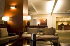 Mostrador del pasillo del hotel de Westin Seattle Fotos de archivo
