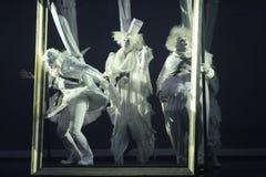 Mostrar-desempenho em St Petersburg, Rússia foto de stock royalty free