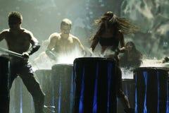 Mostrar-desempenho em St Petersburg, Rússia Fotografia de Stock Royalty Free