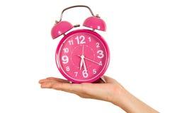 Mostrar el reloj Imágenes de archivo libres de regalías