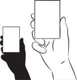 Mostrar la tarjeta ilustración del vector