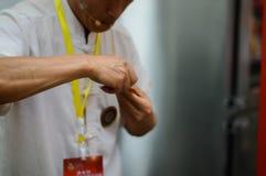 Mostras que moldam o açúcar de China Foto de Stock