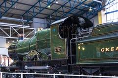 Mostre nel museo ferroviario nazionale a York, Yorkshire Inghilterra Fotografia Stock Libera da Diritti