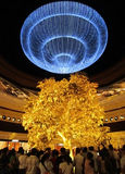 Mostre no casino venetian Macau imagens de stock