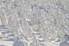 Mostri della neve Fotografie Stock