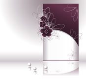 Mostri l'esclusiva per l'estetica o profumo o vestiti illustrazione di stock