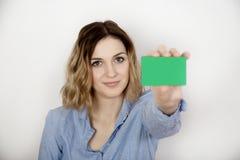 Mostri la carta Fotografie Stock Libere da Diritti