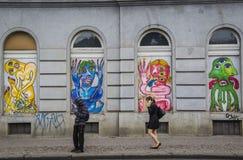 Mostri, Praga Immagini Stock Libere da Diritti