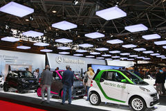 Mostri (salone de de l'Automobile Lione) Immagini Stock Libere da Diritti