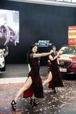 Mostri sulla ragazza di dancing Fotografie Stock Libere da Diritti