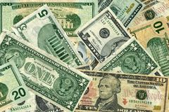Mostrimi i soldi Fotografia Stock
