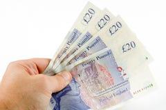Mostrimi i soldi Immagini Stock