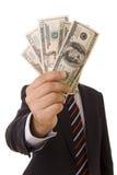 Mostrimi i soldi! Fotografie Stock Libere da Diritti