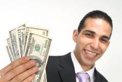 Mostrimi i soldi Fotografia Stock Libera da Diritti