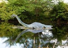 Mostro del Loch Ness Fotografia Stock