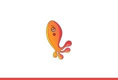 Mostro del pesce annoiato Fotografia Stock