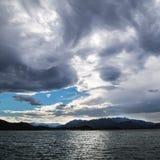 Mostro della nuvola fotografia stock