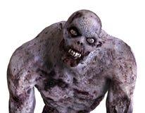 mostro dello zombie dell'illustrazione 3D Immagine Stock