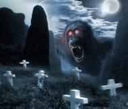 Mostro di Halloween Immagini Stock Libere da Diritti