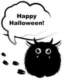 Mostro di Halloween Immagine Stock