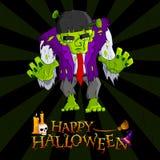 Mostro di Halloween Fotografia Stock