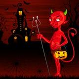 Mostro di Halloween Fotografia Stock Libera da Diritti