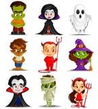 Mostro di Halloween Fotografie Stock Libere da Diritti
