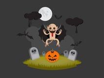 Mostro di Halloween Immagini Stock