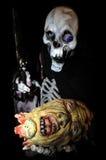 Mostro di scheletro Immagine Stock