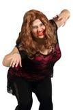 Mostro femminile delle zombie Fotografie Stock