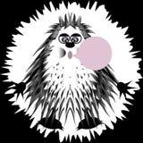 Mostro nero Royalty Illustrazione gratis