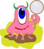Mostro rosa Fotografie Stock Libere da Diritti