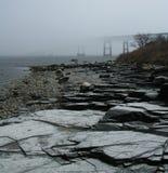 mostu foggy Obrazy Stock