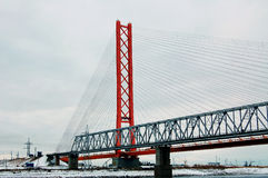 mosty dwa Obrazy Royalty Free