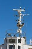 mosty statków Obrazy Royalty Free