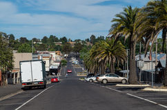 Mostyn Street in Castlemaine Royalty Free Stock Photo