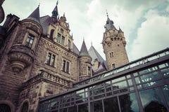 MOSZNA,波兰- 2017年6月04日:Moszna城堡是历史的 免版税图库摄影