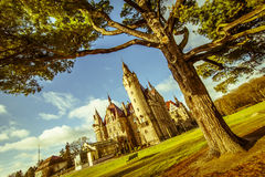 Moszna, κάστρο, Πολωνία Στοκ εικόνα με δικαίωμα ελεύθερης χρήσης