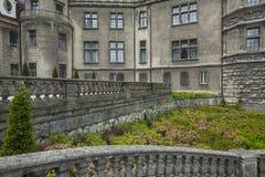 MOSZNA POLSKA, CZERWIEC, - 04, 2017: Moszna kasztel jest historyczny Fotografia Stock