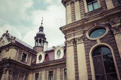 MOSZNA POLSKA, CZERWIEC, - 04, 2017: Moszna kasztel jest historyczny Zdjęcia Royalty Free